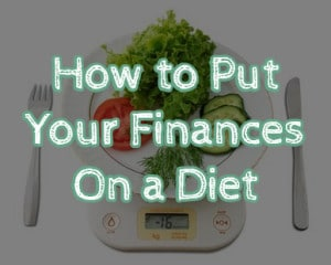how to put your finances on a diet